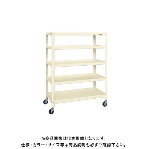 【直送品】サカエ スーパーラックワゴン(ゴム車) SPR-2115RI