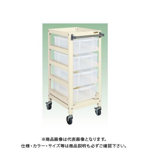 【直送品】サカエ ボックス付ワゴン SSB-23TM4I