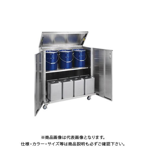 【直送品】サカエ ステンレス 一斗缶保管庫 SU-ITKNBR
