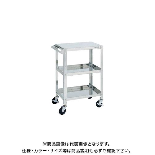 【直送品】サカエ SUS4-150 ステンレス スーパーワゴン
