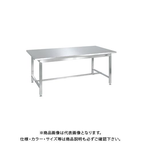 【直送品】サカエ ステンレス作業台(ステンレスカブセ天板) SUS4-157HC