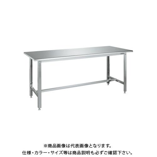 【直送品】サカエ ステンレス作業台 R天板仕様 SUS4-187RC