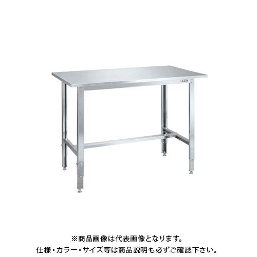 【直送品】サカエ ステンレス高さ調整作業台 SUT4-127LCN