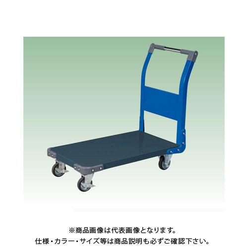 【直送品】サカエ 特製四輪車(ツートン) TAN-22DB