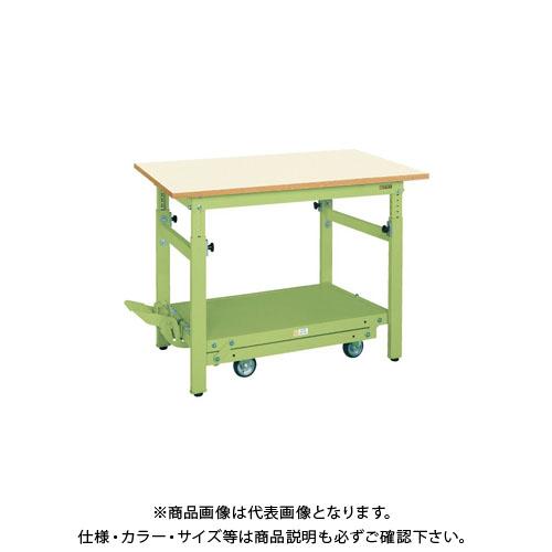 【直送品】サカエ ペダル昇降移動式作業台・軽量TKKタイプ TKK-187PDIG