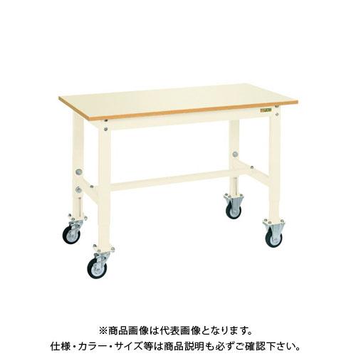 【直送品】サカエ 重量セルワーク作業台・移動式 TKK6-126PCI