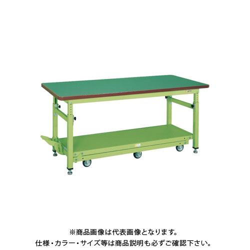 【直送品】サカエ ペダル昇降移動式作業台・軽量TKKタイプ TKW-188Q6FD
