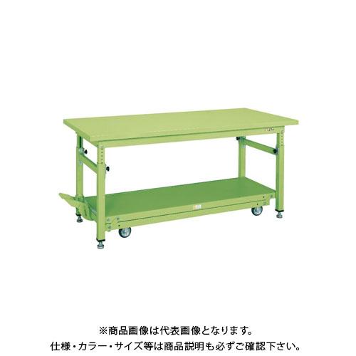 【直送品】サカエ ペダル昇降移動式作業台・重量TKWタイプ TKW-128SD