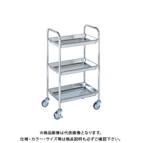 【直送品】サカエ ステンレス トレーワゴン TW-1MSS