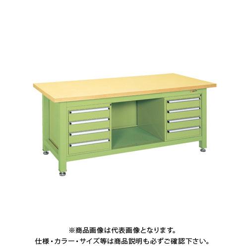 【直送品】サカエ 超重量作業台Wタイプ WG-894F4B