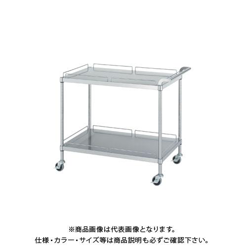 【直送品】【受注生産】シンコー ステンレスワゴン 750×600×800 MN20-7560-U75