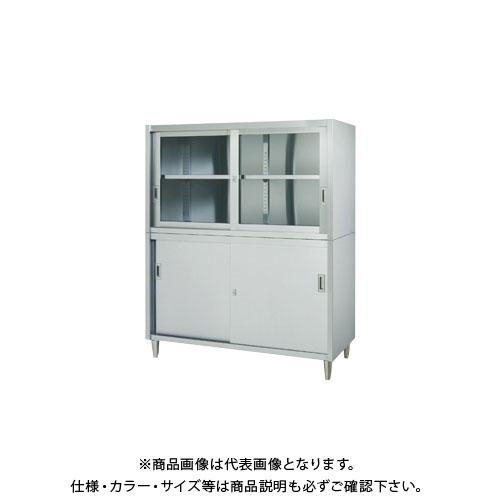 【直送品】【受注生産】シンコー ステンレス保管庫(二段式) 1800×450×1750 VAG-18045