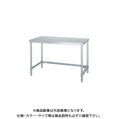 【直送品】シンコー ステンレス作業台(三方枠仕様) 1200×450×800 WT-12045