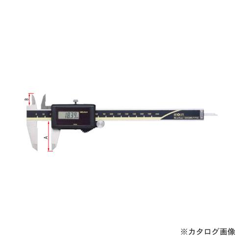 ミツトヨ Mitutoyo ノギス ABSデジマチックキャリパ ソーラタイプ CD-S10CT