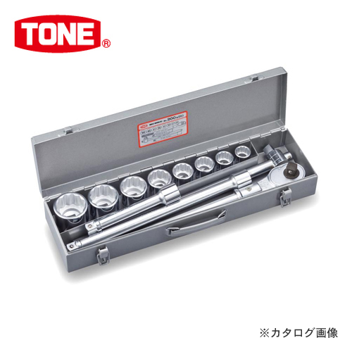 """前田金属工業 トネ TONE 19.0mm(3/4"""") ソケットレンチセット [12点] 200MISO"""