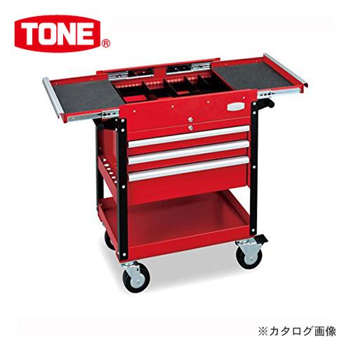 【直送品】前田金属工業 トネ TONE ツールキャビン レッド TC7001R