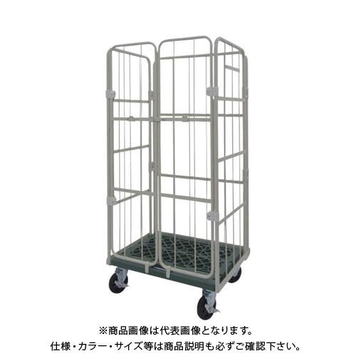【直送品】ヤマト L型ロールコンビテナー (ジョイント樹脂製) KRCシリーズ KRC65J-PI