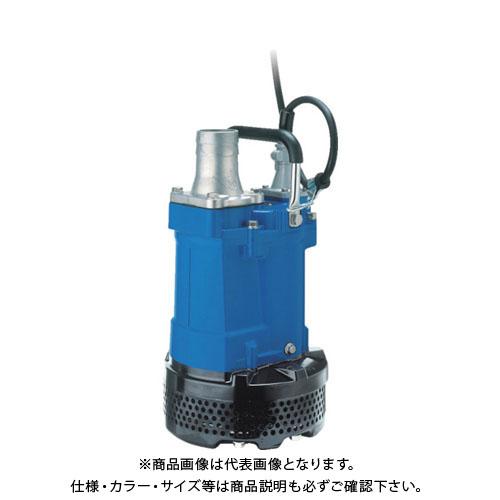 【直送品】ツルミ 一般工事排水用水中ハイスピンポンプ 50HZ KTV2-37 50HZ