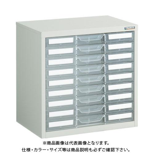 【運賃見積り】【直送品】 TRUSCO マップケース A3X9段 541X360XH541 LA3-1W9