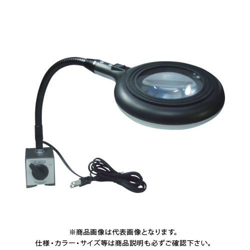 NOGA ノガLEDスタンド拡大鏡付LEDドーナッツ LED6300