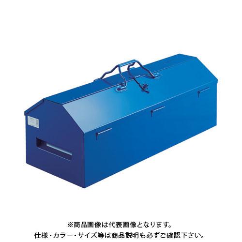 【運賃見積り】【直送品】TRUSCO ジャンボ工具箱 720X280X326 ブルー LG-700-A
