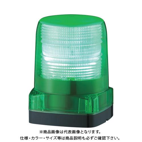 パトライト LEDフラッシュ表示灯 LFH-12-G