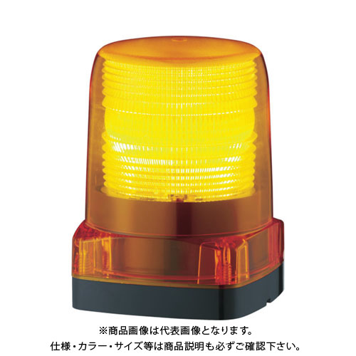 パトライト LEDフラッシュ表示灯 LFH-12-Y