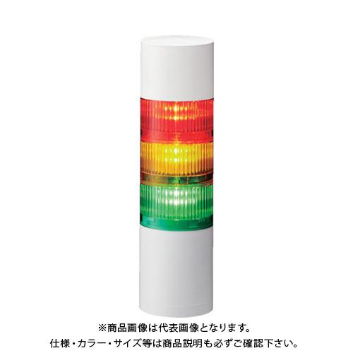 パトライト LR7-202WJNW-RG 直取付け LR7型 積層信号灯 Φ70