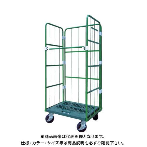 【直送品】ヤマト L型ロールコンビテナー (ジョイント樹脂製) LRCシリーズ LRC50J-PG