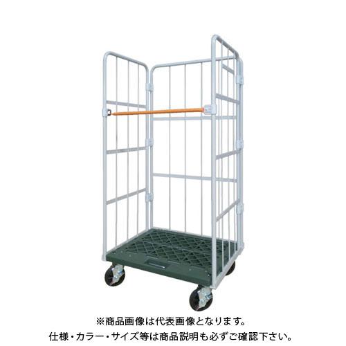 【直送品】ヤマト L型ロールコンビテナー (ジョイント樹脂製) LRCシリーズ LRC55J-PI