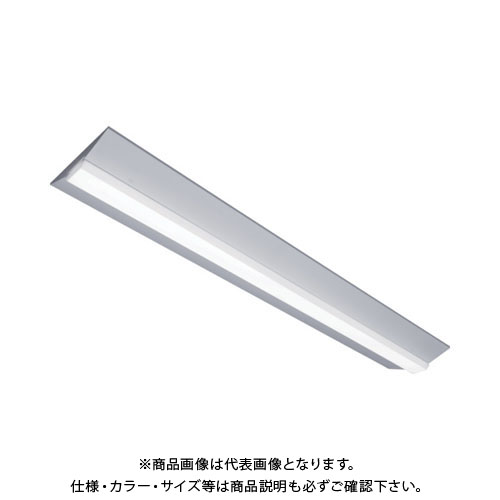 【直送品】IRIS ラインルクス160F 直付型 40形 W230 3680lm LX160F-36WW-CL40W