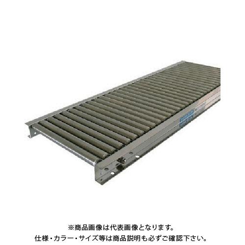 【運賃見積り】【直送品】 TS ステンレスローラコンベヤ 径25×幅600 ピッチ50 機長1000 LSU25-600510