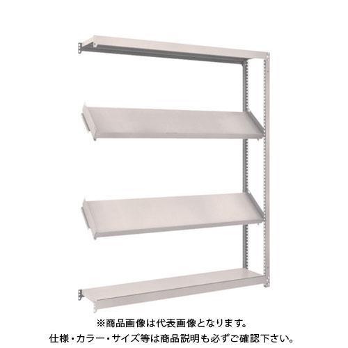 【運賃見積り】【直送品】 TRUSCO M1.5型棚 1500X300XH1800 4段 傾斜2段 連結 M1.5-6534K2B