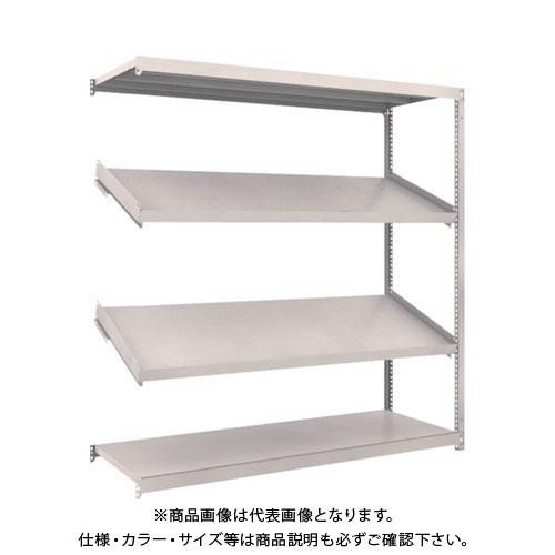【運賃見積り】【直送品】 TRUSCO M1.5型棚 1800X600XH1800 4段 傾斜2段 連結 M1.5-6664K2B