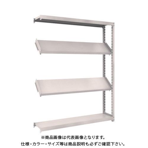 【運賃見積り】【直送品】 TRUSCO M2型棚 1500X300XH1800 4段 傾斜2段 連結 M2-6534K2B