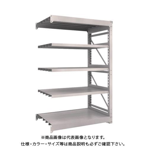 【直送品】 TRUSCO M10型重量棚 1200X760XH1800 5段 連結 ネオグレー M10-6475B:NG