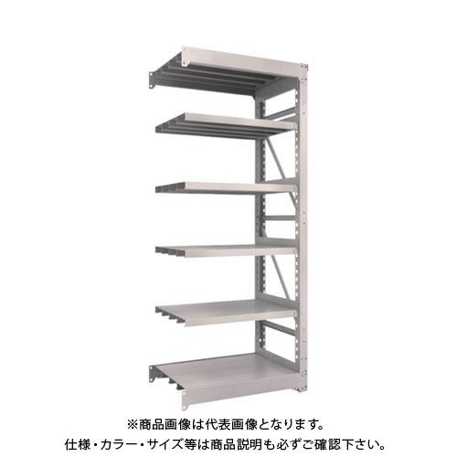 【運賃見積り】【直送品】 TRUSCO M10型重量棚 900X620XH2100 6段 連結 ネオグレー M10-7366B:NG