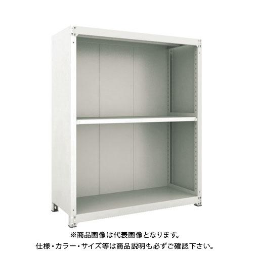 【運賃見積り】【直送品】 TRUSCO M3型棚 背板・側板付 W900XD595 3段 M3-6363-SG