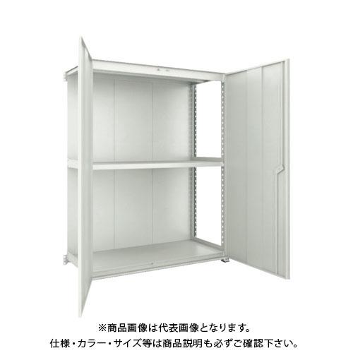 【個別送料2000円】【直送品】 TRUSCO M3型棚 背板・扉付 W900XD571 3段 連結 M3-6363-SD-B