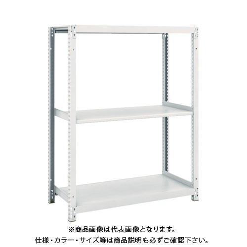 【運賃見積り】【直送品】 TRUSCO M1軽量棚900X420XH1200 3段 M1-4343