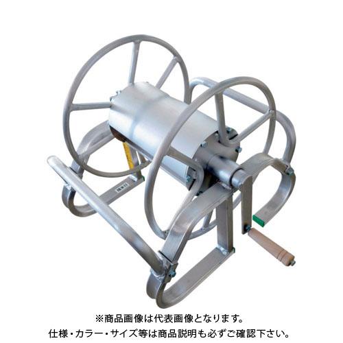 【個別送料1000円】【直送品】 昭和 アルミ製ホース巻取機 MA-6B