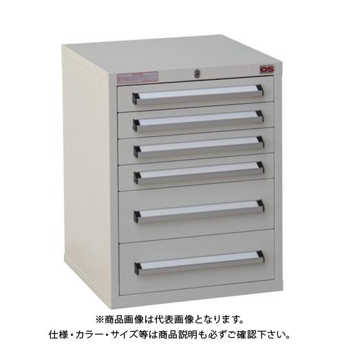【運賃見積り】【直送品】 OS ミゼットキャビネット(ライトグレー) M8-2G