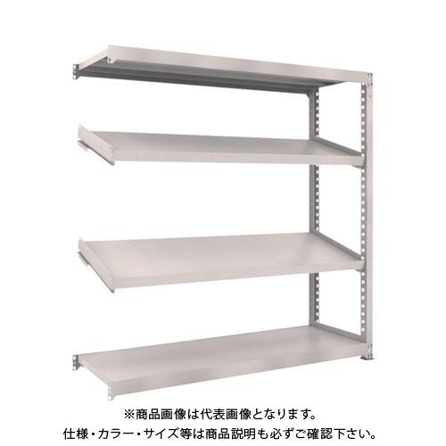 【運賃見積り】【直送品】 TRUSCO M3型中量棚 1800X571XH1800 4段 傾斜2段 連結 M3-6664K2B