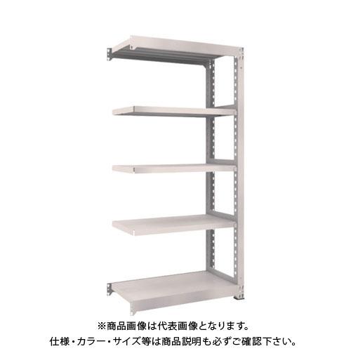 【運賃見積り】【直送品】 TRUSCO M5型中量棚 900X471XH1800 5段 連結 ネオグレー M5-6355B:NG