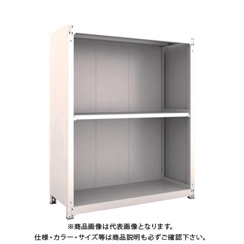 【個別送料2000円】【直送品】 TRUSCO M3型棚 背板・側板付 W1500XD595 3段 M3-6563-SG
