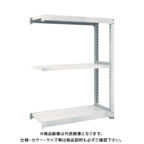 【運賃見積り】【直送品】 TRUSCO M5型中量棚 1500X571XH1500 3段 連結 ネオグレー M5-5563B:NG
