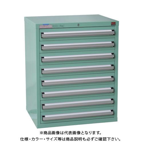 【運賃見積り】【直送品】 OS ミドルキャビネットMD型 最大積載量800kg 引出し8段 MD801