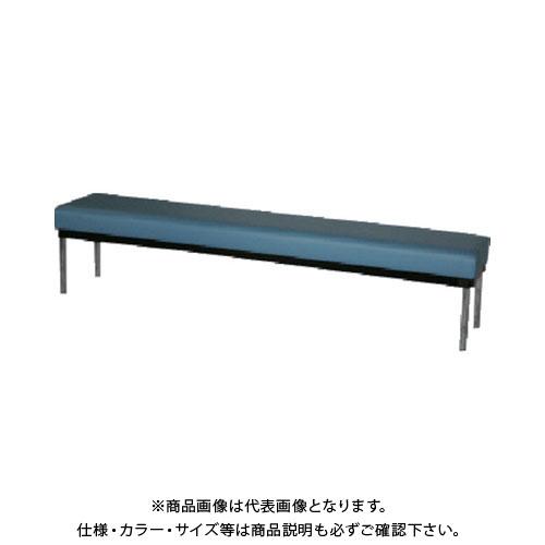 背無し 青 【直送品】 ロビーチェア ミズノ MC-3800:B