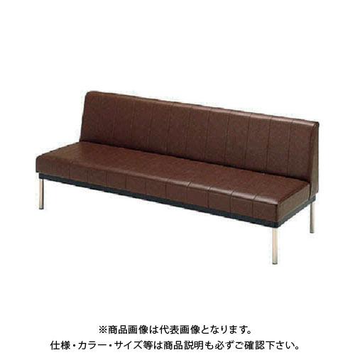 【直送品】 ミズノ ロビーチェア 背付き ブラウン MC-415:BR