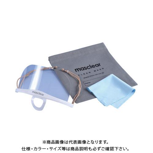 ム-ヴ・オン 透明衛生マスク マスクリアベーシックバンドル (5個入) M-BUNDLE-5